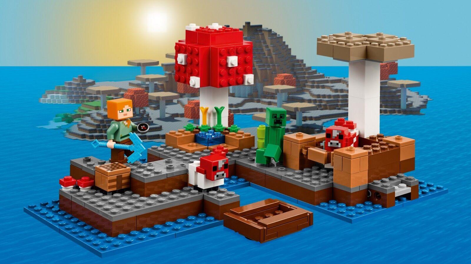 LEGO® Minecraft™ 21129 Die Pilzinsel NEU OVP_ The Mushroom Mushroom Mushroom Island NEW MISB NRFB 999ee0