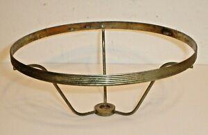 "Vintage Lamp Shade Holder Spider Bracket 7"" x 3"" (Original Part) Antique"