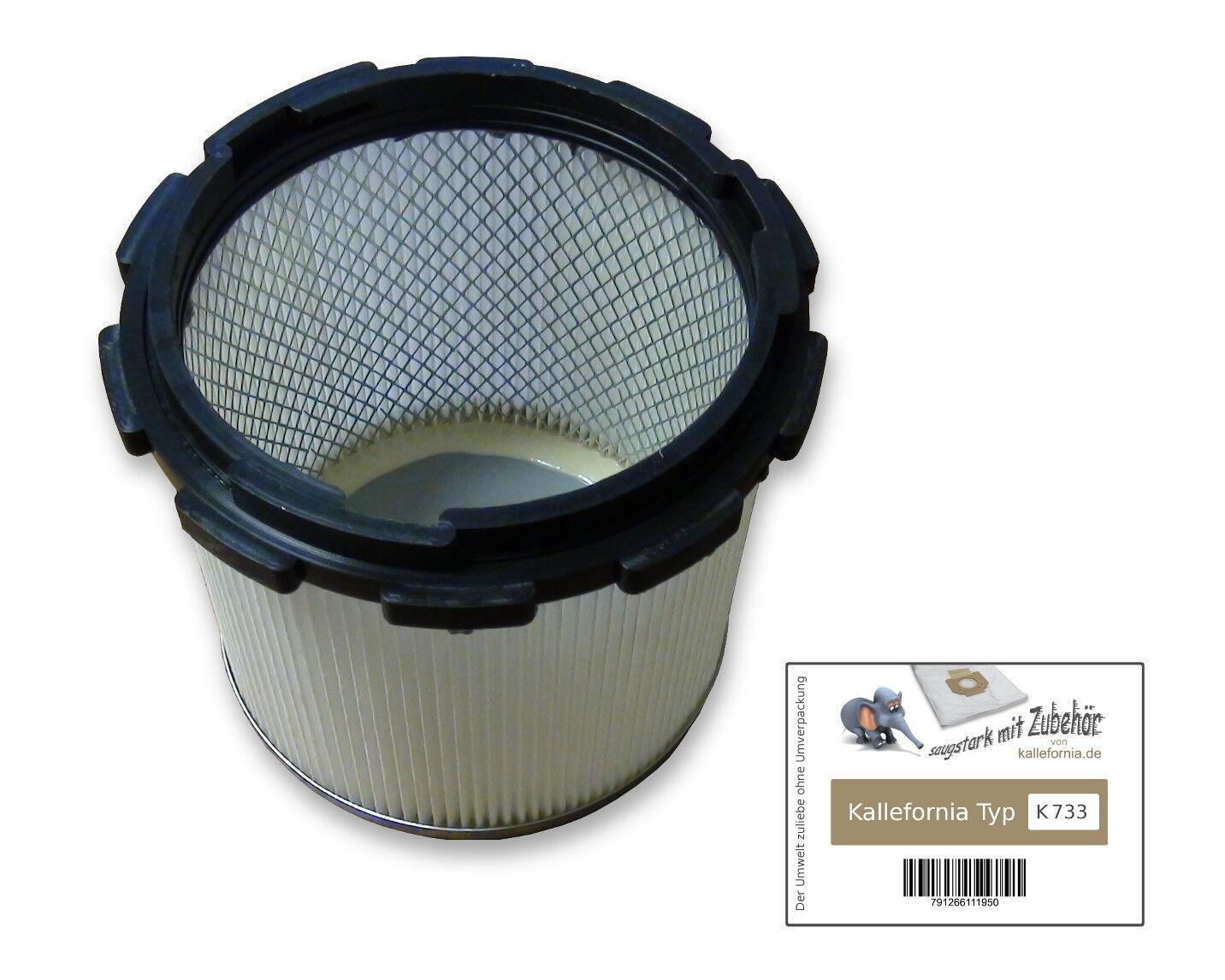 waschbarer PES Filter für Nilfisk GB 635 Filterelement Faltenfilter GB635