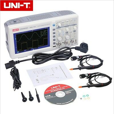 UNI-T UTD2052CEX Digital Storage Oscilloscope Scopemeter 50MHz 2 Channels 1GSa/s