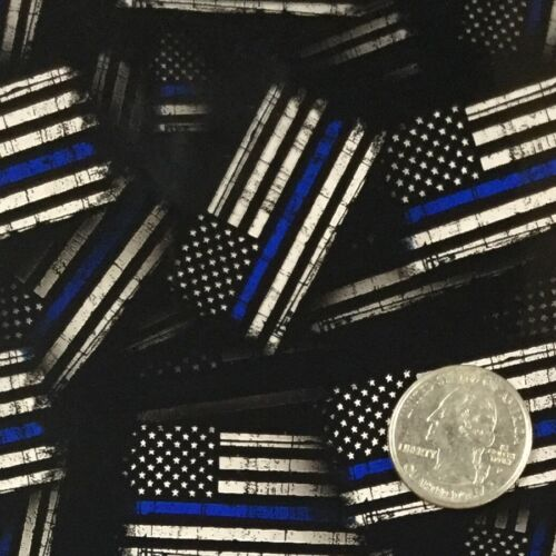 BLUE LINE GARRISON POLICE FLAGS HYDROGRAPHIC WATER TRANSFER HYDRO FILM DIP APE