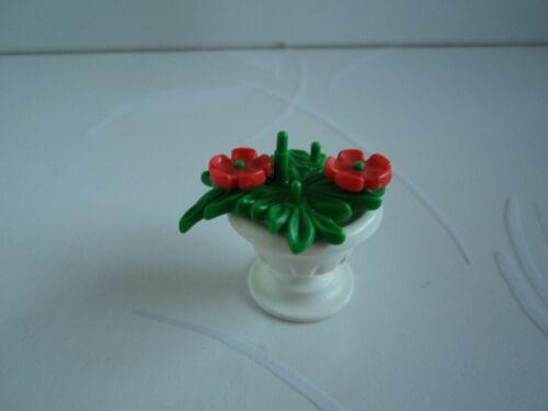 PLAYMOBIL maisons belle époque 1900 château princesse pot blanc fleurs 5300 5343