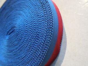 1-metro-di-nastro-vecchio-rosso-e-blu-per-medaglia-carabinieri