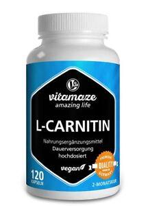 L-Carnitin-hochdosiert-als-120-Kapseln-fuer-Fatburner-Fettverbrennung-Diaet-VEGAN
