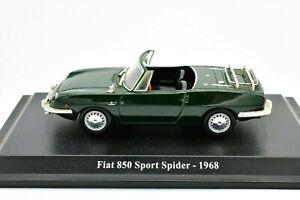 Fiat auto 1/43 850 Sport Spider voiture Véhicules-jouets diecast NOREV