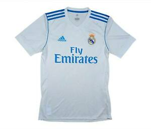 REAL MADRID 2017-18 Authentic Home Shirt (OTTIMO) S Soccer Jersey