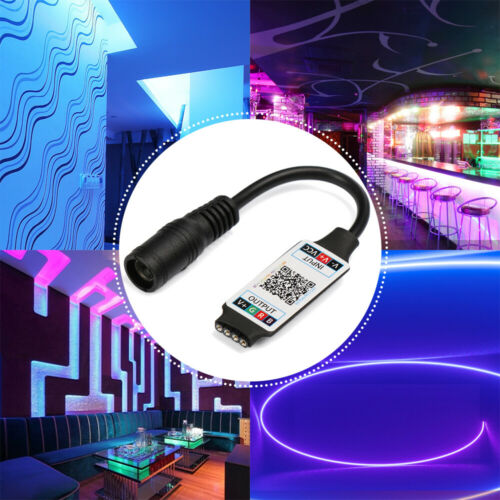 3528 Smart DC 5-24V Wireless RGB Controller Bluetooth LED Light Strip Adapter
