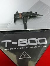 1/6 Hot Toys The Terminator T-800 MMS136 Machine Gun UZI *US Seller*