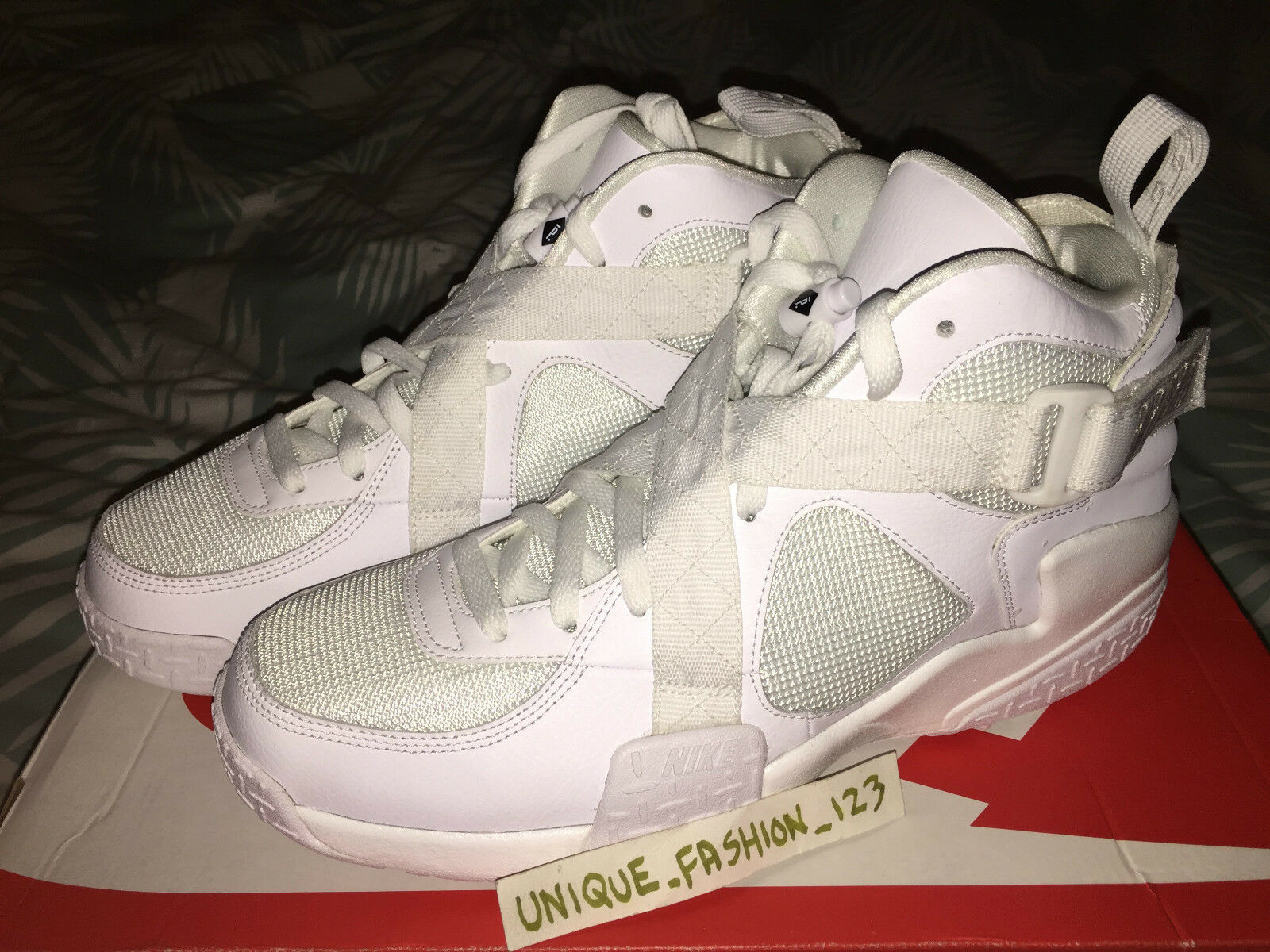 NIKE AIR RAID SP PIGALLE US 12 WHITE NYC 200 PAIRS PPP WINE FORCE 1