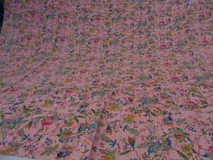 Indian-Kantha-Paredise-Baby-Quilt-Blanket-Cotton-Throw-Bedspread-Coverlet-Kantha