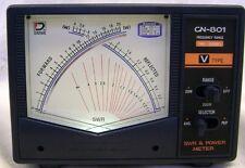 DAIWA CN-801V 140-525 MHZ PROF. CROSS-NEEDLE SWR/POWER METER W/ UHF CON. 3 YR WR