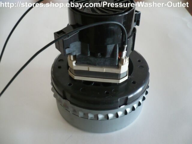 Vacuum Motor Commercial grade for central vacs and car wash vacuums