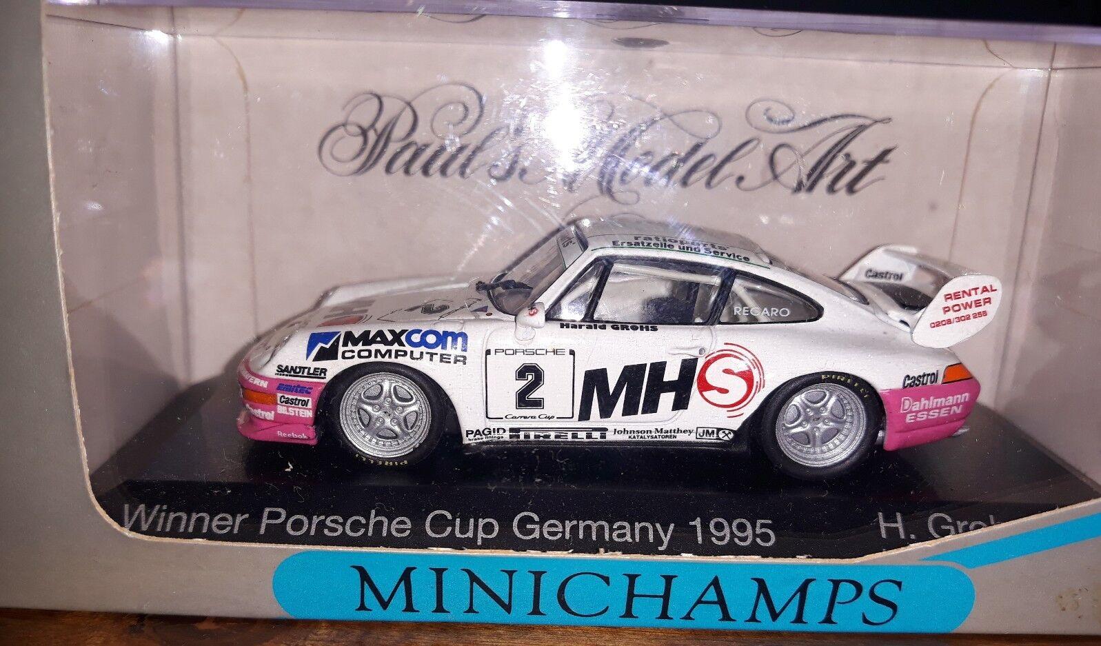 Minichamps 1 43 Porsche 911 Winner Cup Germany 1995  2 H. Grohs