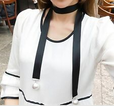 2017 Fashion Retro Women Leather Choker Gothic Collar Statement Necklace Gift AD
