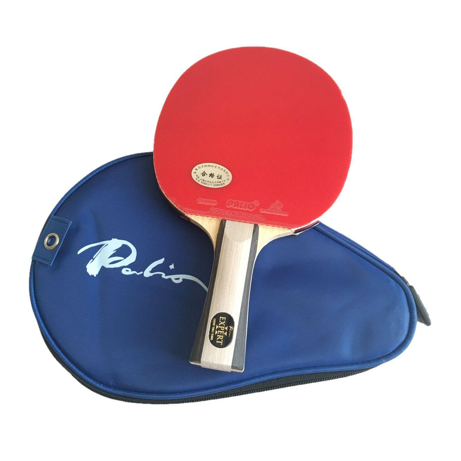 Palio Expert 2 Table Tennis Bat & Case