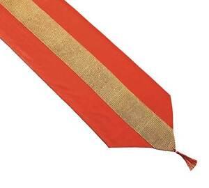 Table Runner 13 X 90 Inch Red Velvet