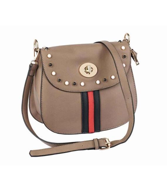 shop best sellers utterly stylish shop HEINE Handtasche Schultertasche Crossover Bag Camel braun NIETEN