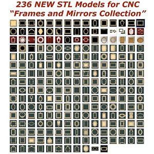 236-NEW-Frames-and-Mirrors-3d-STL-Models-for-CNC-Router-3d-Printer-Artcam-Aspire