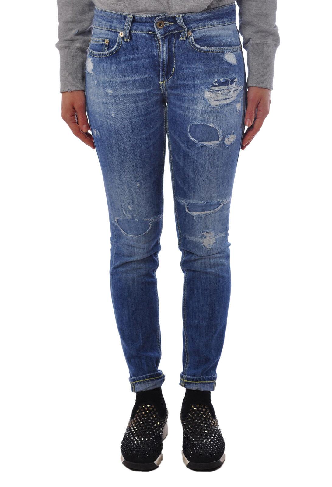 Dondup - Jeans-straight leg Pants - Woman - Denim - 1324027B195527