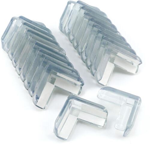 Klebepads 20 x Silikon Transparent  Kantenschutz Eckenschutz Kinderschutz inkl