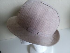 Image is loading Vintage-Men-039-s-London-Fog-Tan-Fedora- 3c5e88554c0