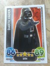 STAR WARS Force Awakens - Force Attax Trading Card #034 Darth Vader
