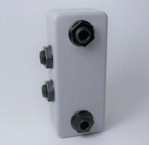 Pb2-ra-Pedalboard-Patch-Bay-Abzweigdose-1-4-in-TRS-Gitarre-Pedal-Anschlussbuchsen-PatchFeld
