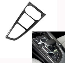 stainless steel Gear Position Panel Decorative Cover Trim for Audi A4 B9 2016-17