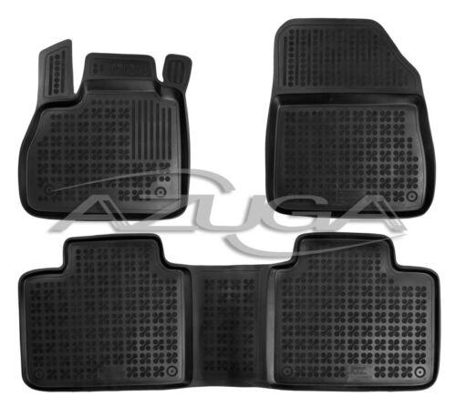 3d goma de tapices para Renault Espace a partir de 3//2015 altos alfombrillas de goma ALFOMBRILLAS COCHE