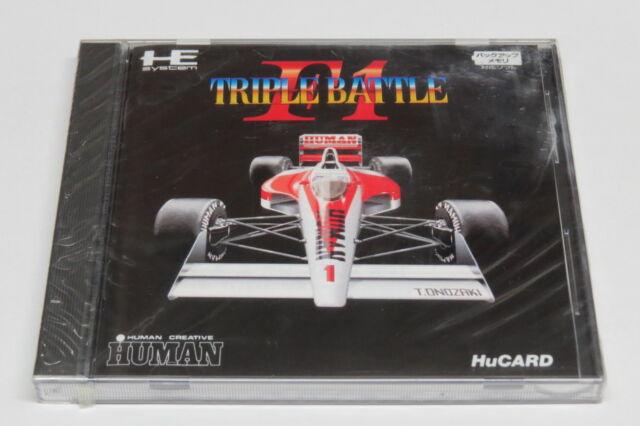 F1 Triple Battle F-1 NEC PC Engine Hucard GT LT * Flambant Neuf Scellé * 3 Player