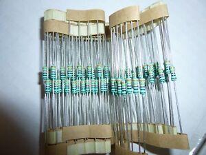 37.4K Ohm 1//4 Watt 1/% Metal Film Resistor 5 Pieces Prime Parts US Seller