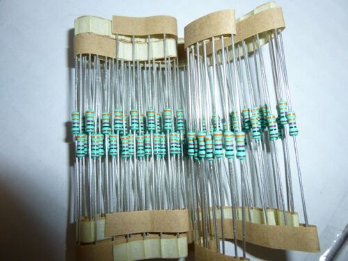 10K Ohm 1//4 Watt 1/% Metal Film Resistor 100 Pieces Prime Parts US Seller