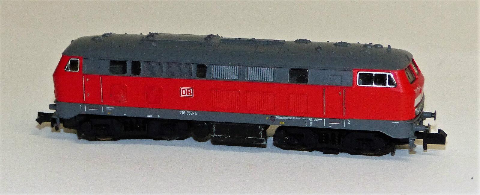 Fleischmann 7236 piccolo DIESEL BR 218 356-4 DB Spur N