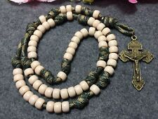 Warrior Pace Count Rosary Military Rugged