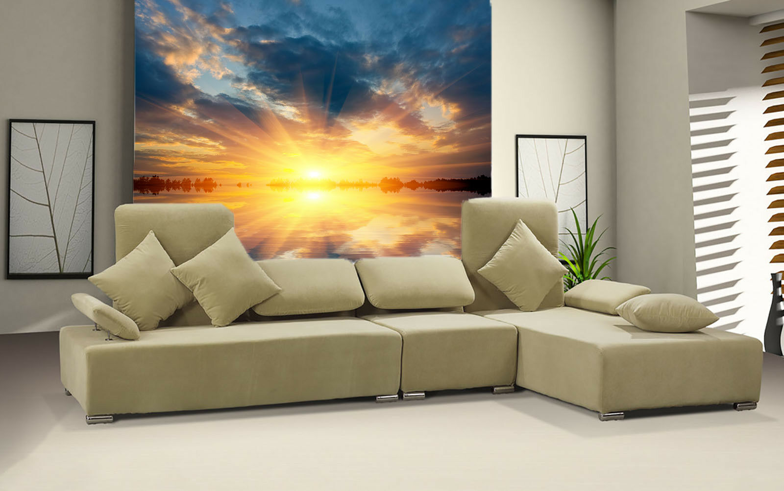 3D Sunrise Clouds 72 Wall Paper Murals Wall Print Wall Wallpaper Mural AU Kyra