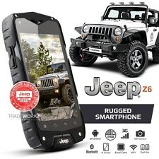 Genuine JEEP Z6 Grey Waterproof Android 3G Dual SIM Rugged Smartphone Cell Phone