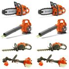 Husqvarna Chainsaw, Leaf Blower, Hedge Trimmer & Lawn Trimmer Toys 2-Packs Each
