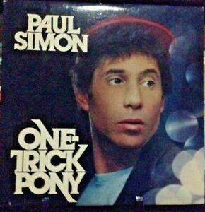 PAUL SIMON One-Trick Pony  ALBUM Released 1980 Vinyl/Record  Collection US press