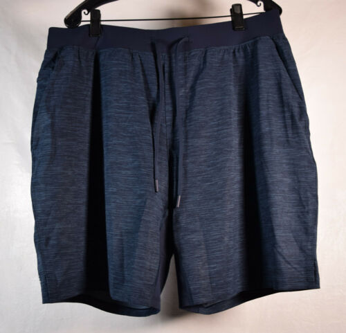 Lululemon Mens Soulcycle Pace Shorts Gym 2XL