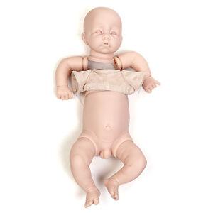 19 '' Reborn Baby Doll Diy Kits Garçon Poupées Pour Vinyle En Silicone Souple À La Main