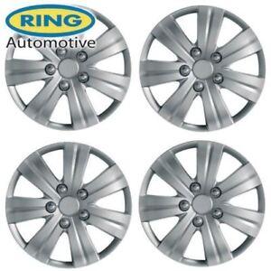 Vauxhall-Vivaro-Wheel-Mic-16-034-Set-of-4-HUB-Caps-effet-Sportif-Style-Flare