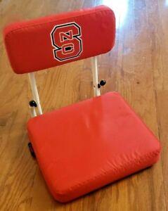 NORTH CAROLINA STATE WOLFPACK STADIUM BLEACHER SEAT – NC STATE FOLDING CHAIR