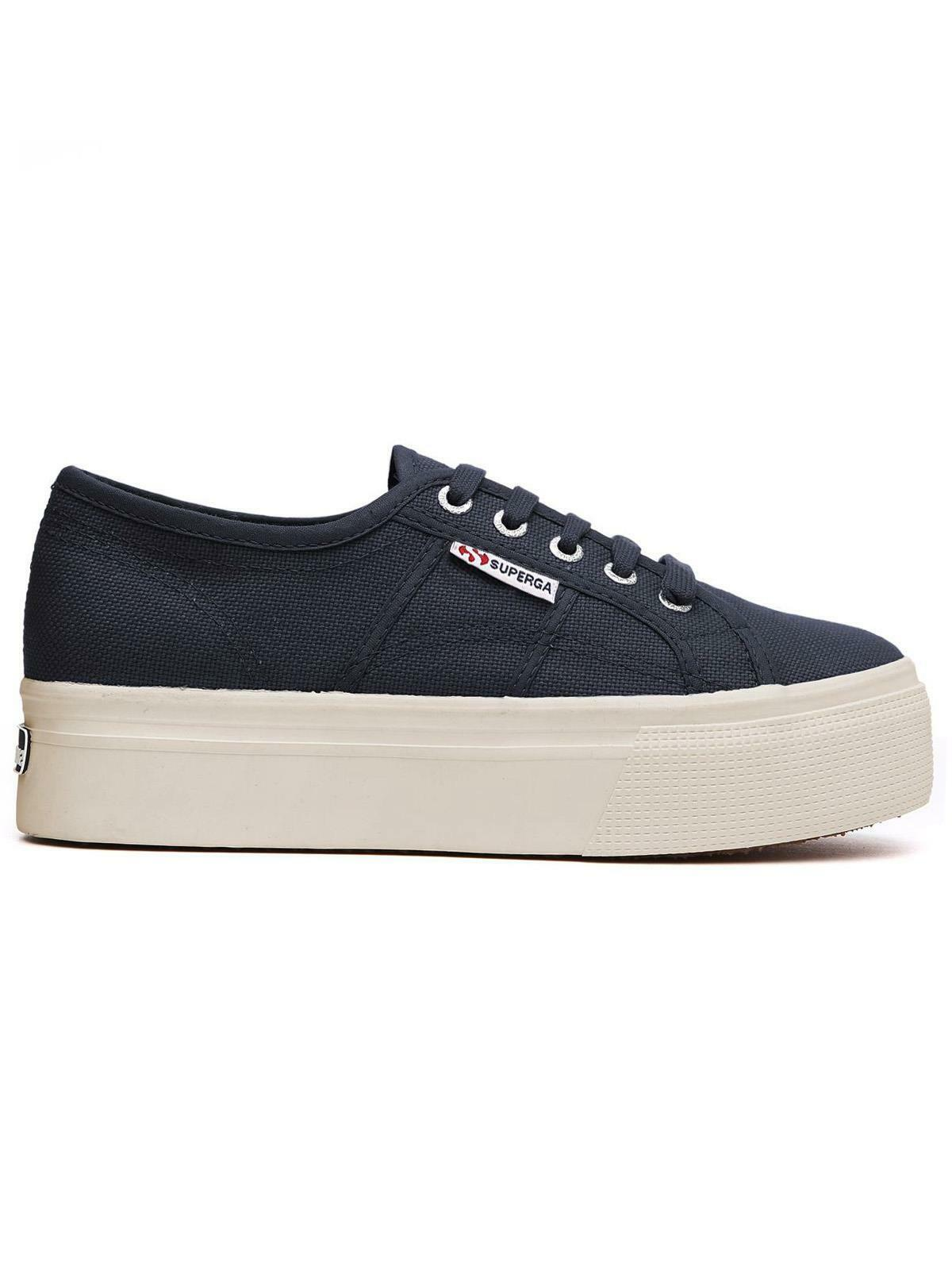 Superga Cotw Linea UP Blu Damenschuhe     S0001