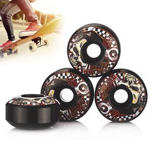 4pcs-Roues-Professionnelles-Roues-de-Skate-Noires-et-Rouges-52-x-30-mm