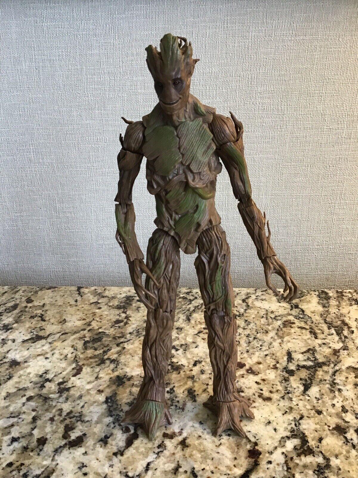 Marvel Leyendas Groot construir una figura Baf Completo Guardianes de la galaxia