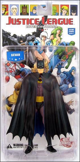 JLI Justice League International BATMAN 6in Action Figure DC Direct Toys Collec
