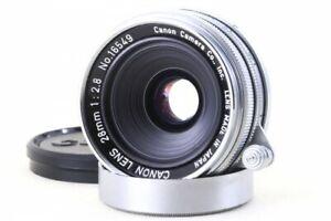 Canon-28mm-f-2-8-Objektiv-Leica-Screw-Mount-LTM-l39-aus-Japan-16549-EXC