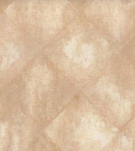 Wallpaper-Designer-Beige-Tan-amp-Cream-Diamond-Faux-Tile-Look