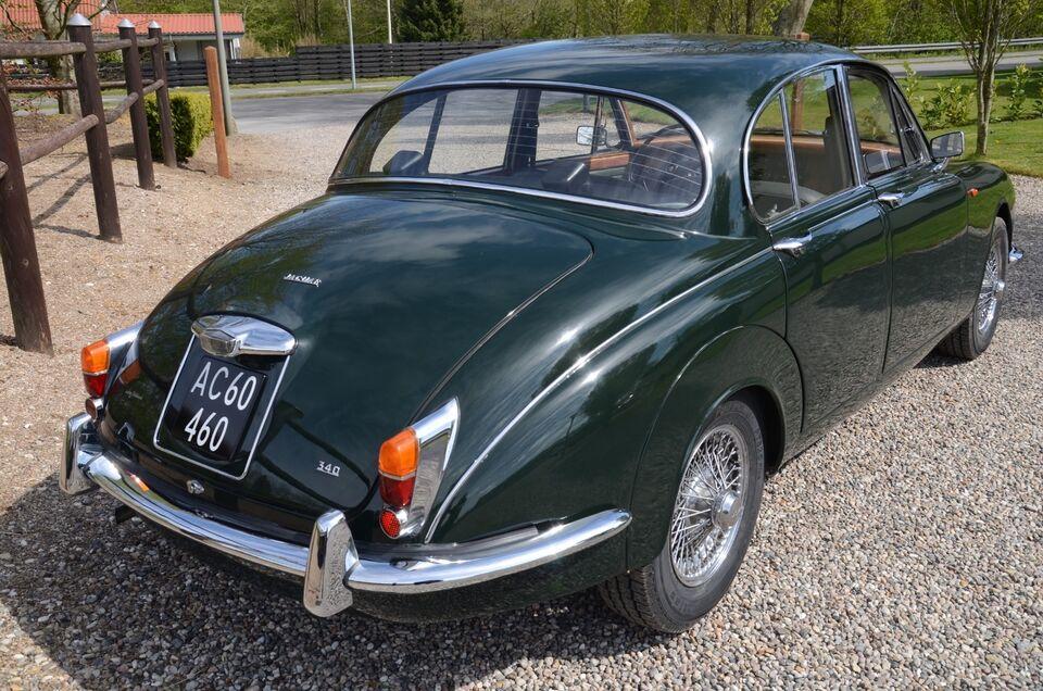 Jaguar MK. II 3,4 Saloon Benzin modelår 1967 km 0 Mørkgrøn