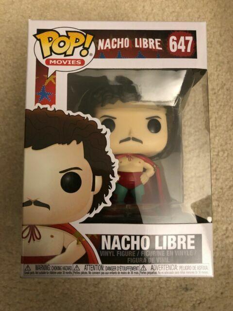 Nacho Toy Multicolor Funko Pop Movies Nacho Libre